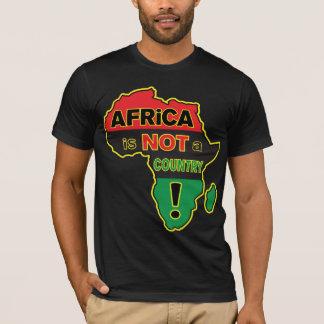 """""""África não é um país! De """"T RBG Camiseta"""