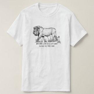 África não para o Tshirt das mariquinhas Camiseta