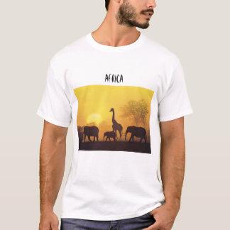 África no selvagem camiseta
