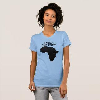 África nossa camisa Home do mapa