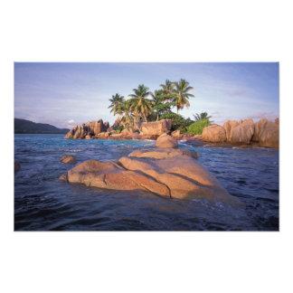 África, Oceano Índico, Seychelles, Praslin Impressão De Foto