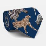 African Animals Gravata