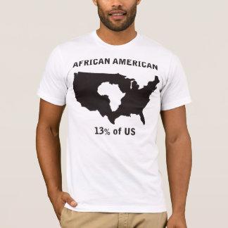 Afro-americano Camiseta