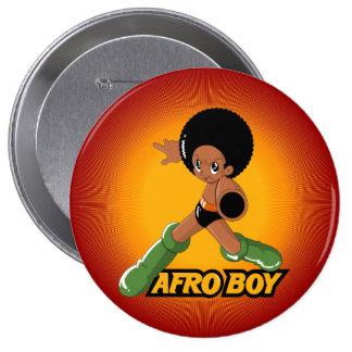 AfroBoy! Bóton Redondo 10.16cm