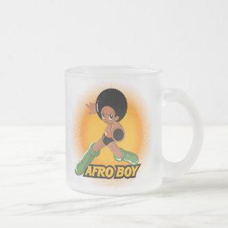 AfroBoy! Caneca De Café Vidro Jateado