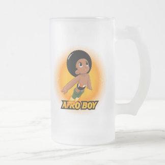 AfroBoy! Caneca De Cerveja Vidro Jateado
