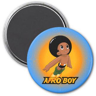 AfroBoy! Ímã Redondo 7.62cm