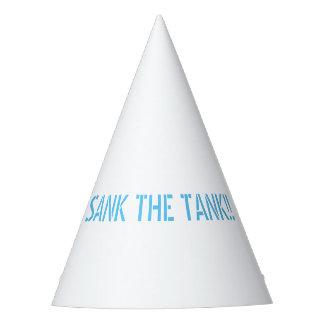 AFUNDOU o chapéu do partido do TANQUE