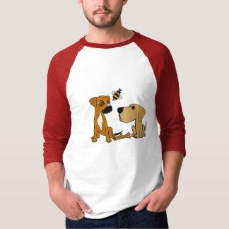AG camisa bonito dos amigos do cão do salvamento