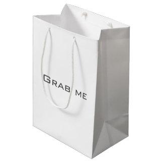 Agarre-me saco sacola para presentes média