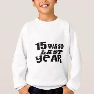 Agasalho 15 era assim tão no ano passado o design do