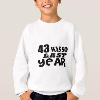 Agasalho 43 era assim tão no ano passado o design do