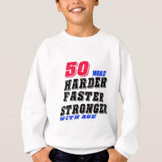 Agasalho 50 mais fortes mais rápidos mais duros com idade