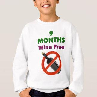 Agasalho 9 meses de vinho livram, mamã grávida, presente da