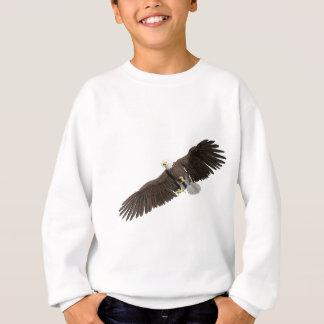 Agasalho A águia americana com as asas em para baixo afaga