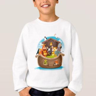 Agasalho A arca de Noah com animais da selva