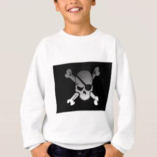 Agasalho A bandeira de pirata dos Crossbones do crânio