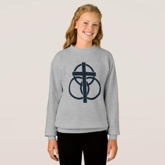 Agasalho A camisola da menina: Logotipo moderno