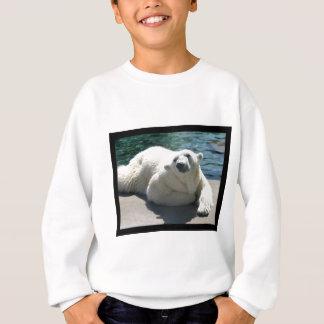 Agasalho A camisola do miúdo ártico do urso polar