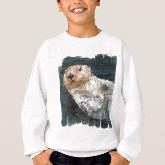 Agasalho A camisola do miúdo da lontra de mar