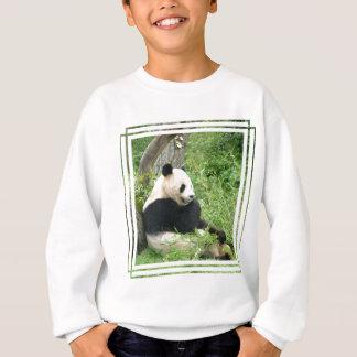 Agasalho A camisola do miúdo da panda