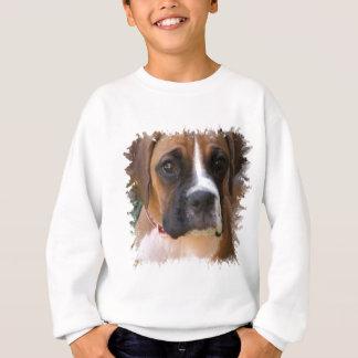 Agasalho A camisola do miúdo do design do cão do pugilista