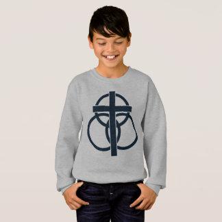 Agasalho A camisola do miúdo: Logotipo moderno