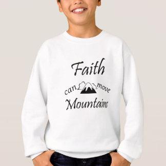 Agasalho A fé pode mover montanhas