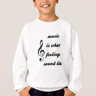 Agasalho A música é o que os sentimentos soam como