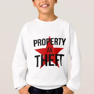 Agasalho A propriedade é roubo - comunista socialista do