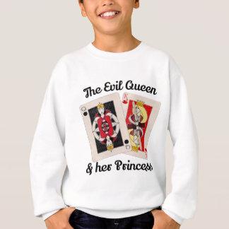 Agasalho A rainha má e sua princesa Tshirt