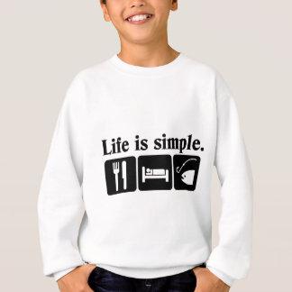 Agasalho A vida é simples, peixes