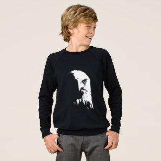 Agasalho Águia americana preta & branca