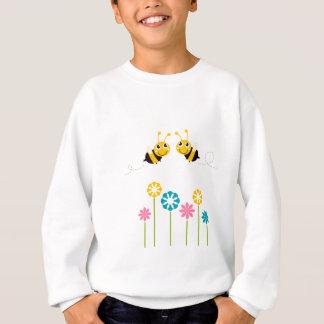 Agasalho Amarelo bonito pequeno maravilhoso das abelhas