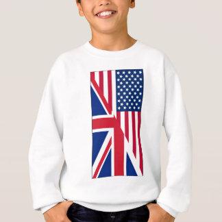 Agasalho Americano e bandeira de Union Jack