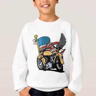 Agasalho Americano Eagle do motociclista