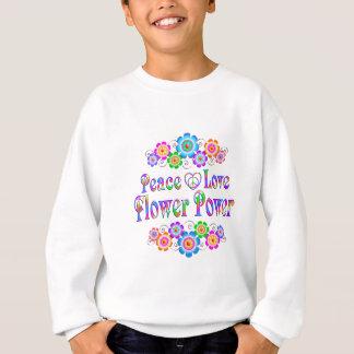 Agasalho Amor bonito flower power da paz