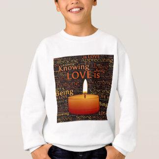 Agasalho Amor, citações da vela