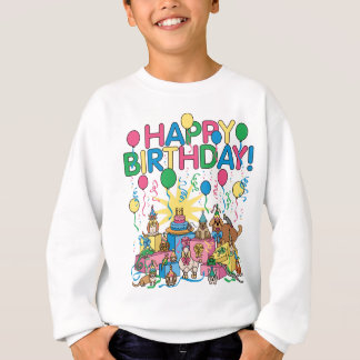 Agasalho Animais de festa de aniversário