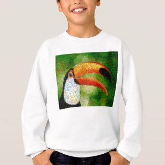 Agasalho Arte da colagem-toucan de Toucan - arte da colagem