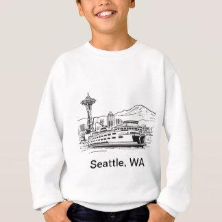 Agasalho Arte de fronteira estadual de Washington da balsa