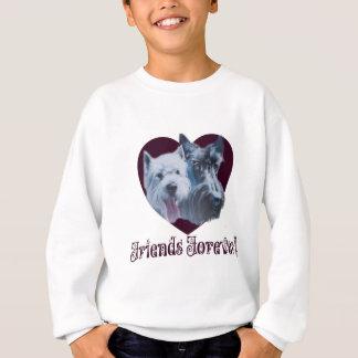 Agasalho Arte do cão:  Amigos para sempre!