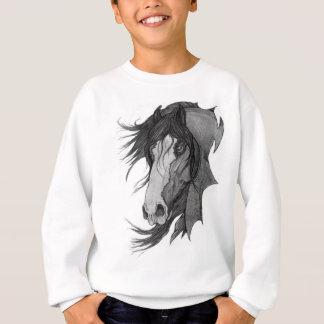 Agasalho Arte do cavalo do garanhão de Clydesdale do