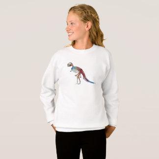 Agasalho Arte do esqueleto do rex do tiranossauro