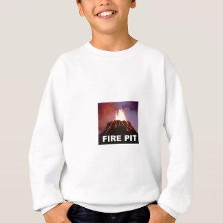 Agasalho arte do poço do fogo