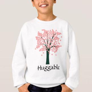 Agasalho Árvore abstrata cor-de-rosa