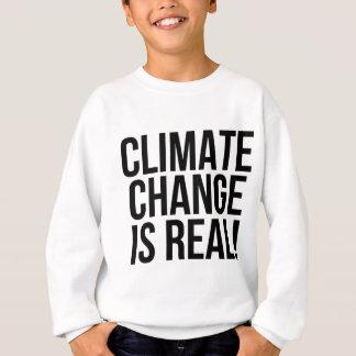 Agasalho As alterações climáticas são reais! Mundo da terra