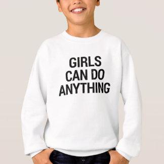 Agasalho As meninas podem fazer qualquer coisa