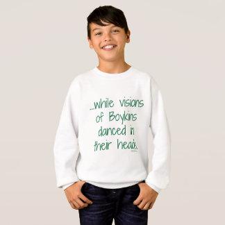 Agasalho As visões do miúdo da camisola de Boykins