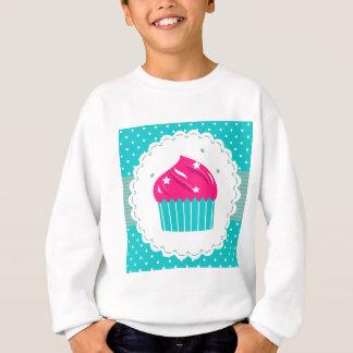 Agasalho Azul azul surpreendente do rosa do cupcake